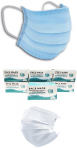 3-ply masks adult and child sizes